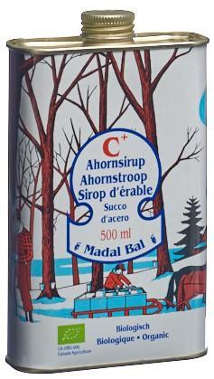MADAL BAL Ahornsirup Grade C+ 500 ml
