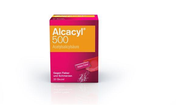 ALCACYL Instant Plv 500 mg Btl 20 Stk