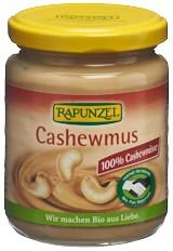 RAPUNZEL Cashewmus Glas 250 g
