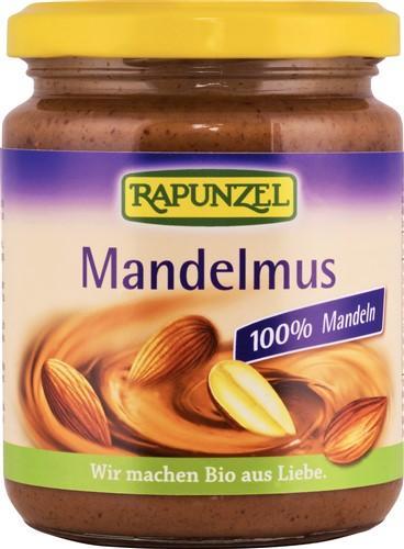 RAPUNZEL Mandelmus Bio braun Glas 250 g