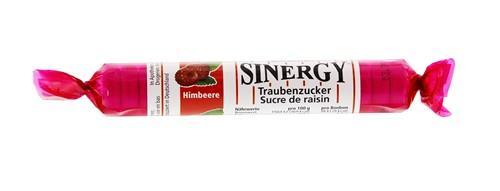 SINERGY Traubenzucker Himbeer Rolle 40 g
