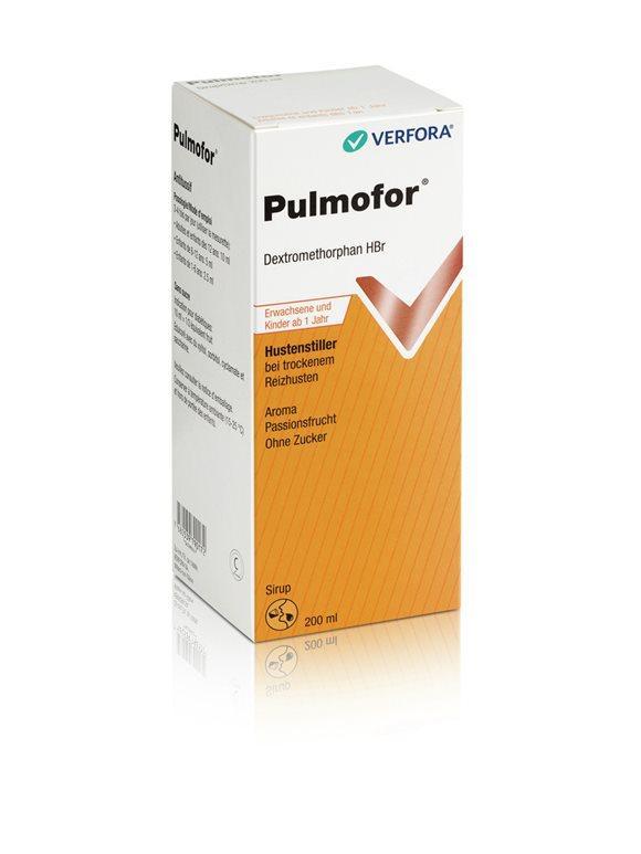 PULMOFOR Hustensirup o Zucker 200 ml