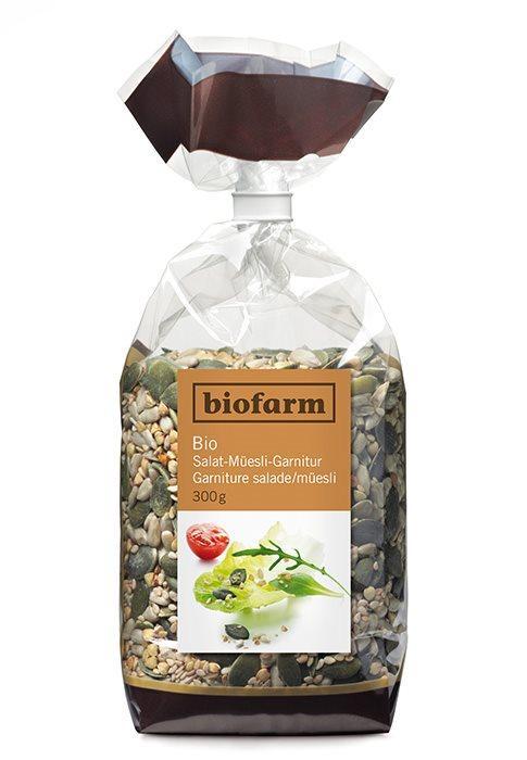 BIOFARM Salat Müesligarnitur Knospe 300 g