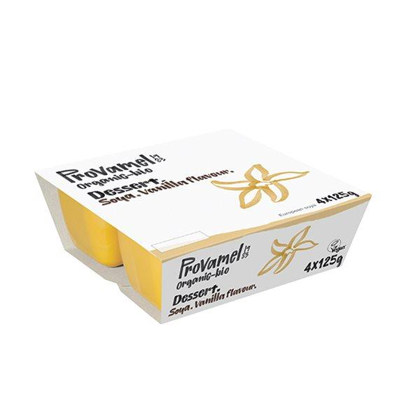 PROVAMEL BIO Soja Dessert Vanille 4 x 125 g