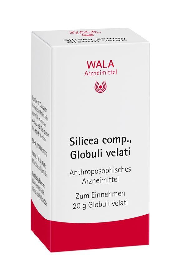 WALA Silicea comp Glob Fl 20 g