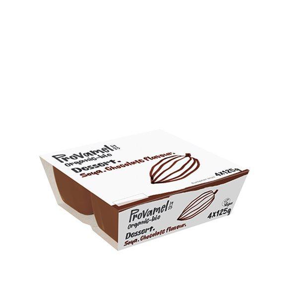 PROVAMEL BIO Soja Dessert Schokolade 4 x 125 g
