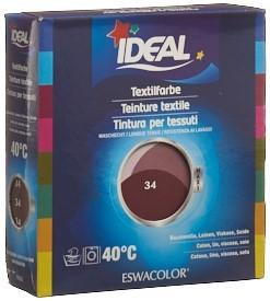 IDEAL MAXI Baumwolle Color No34 bordeaux