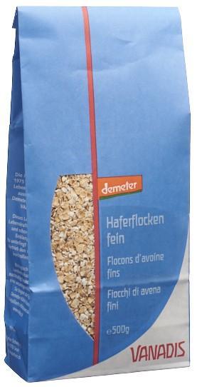 VANADIS Haferflocken fein Demeter Btl 500 g