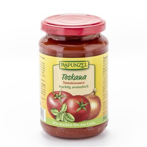 RAPUNZEL Tomatensauce Toskana Glas 340 g