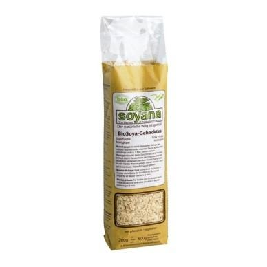 SOYAQUEL Gehacktes Bio naturfarben 200 g