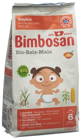 BIMBOSAN Bio-Reis refill Btl 400 g