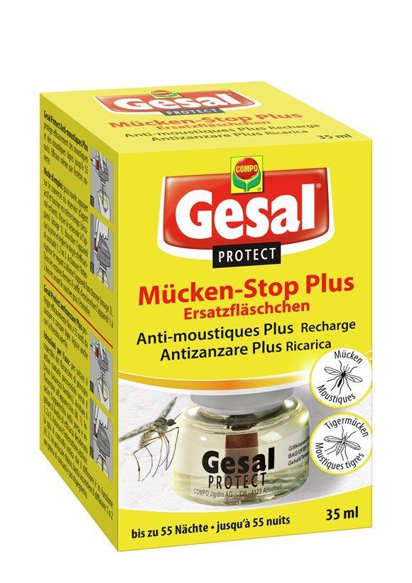 GESAL PROTECT Mücken-Stop Nachfüllung 35 ml