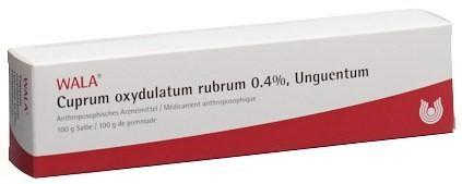 WALA Cuprum oxydulatum rubrum Salbe 0.4 % Tb 100 g