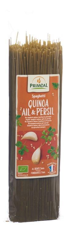 PRIMEAL Spaghetti Quinoa Knoblauch-Petersil 500 g
