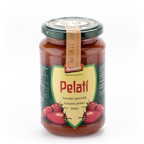 VANADIS Tomaten geschält Demeter Glas 340 g