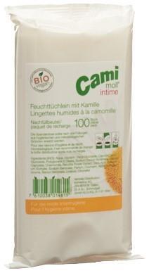 CAMI MOLL intime Feuchttücher refill 100 Stk