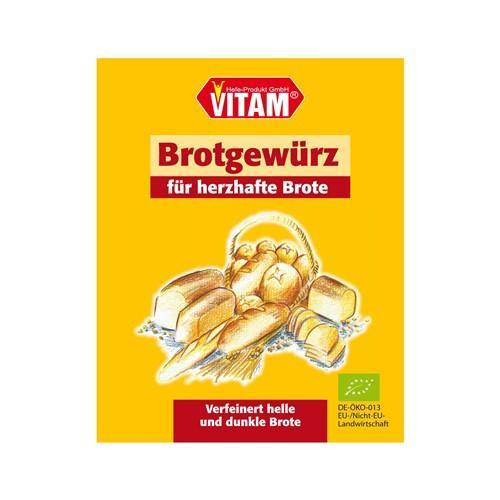 VITAM Brot Gewürz Bio 12 Btl