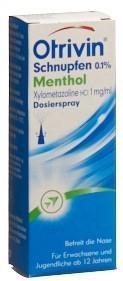 OTRIVIN Schnupfen Dosierspray 0.1 % Menthol 10 ml