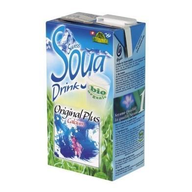 SOYANA SWISS Sojadrink Ori Calz Bio Tetra 1 lt