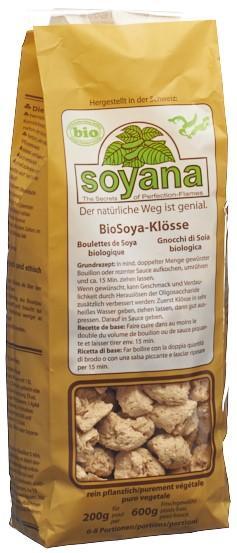 SOYANA Soya Eiweiss Klösse Bio naturfarben 200 g