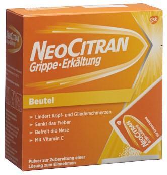 NEOCITRAN Grippe Erkältung Plv Erw Btl 12 Stk