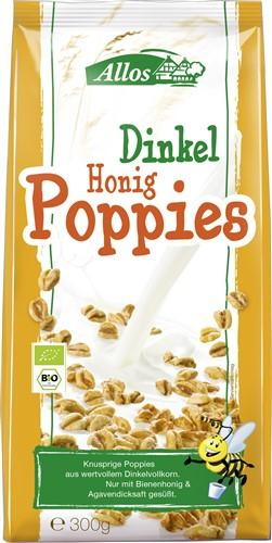 ALLOS Dinkel Honig Poppies Bio Btl 300 g