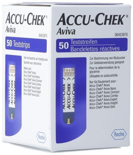 ACCU-CHEK AVIVA Teststreifen 50 Stk