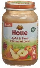 HOLLE Apfel & Birne Bio 190 g