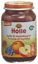HOLLE Apfel & Heidelbeeren Bio 190 g