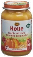 HOLLE Kürbis mit Huhn Bio 190 g
