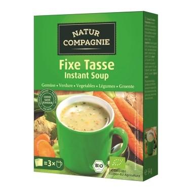 NATUR COMPAGNIE Instant Suppe Gemüse Bio 3 x 20 g