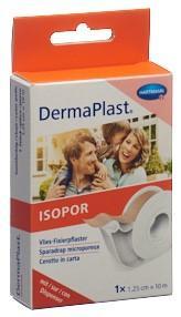 DERMAPLAST ISOPOR Fixierpf 1.25cmx10m vl hf Disp