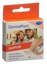 DERMAPLAST ISOPOR Fixierpf 1.25cmx10m vl hf Rolle
