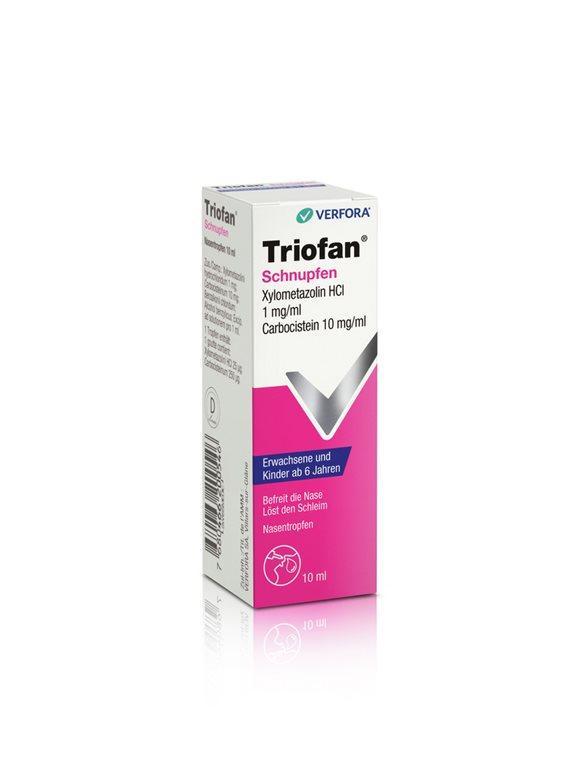 TRIOFAN Schnupfen Gtt Nas Erw/Kind 10 ml