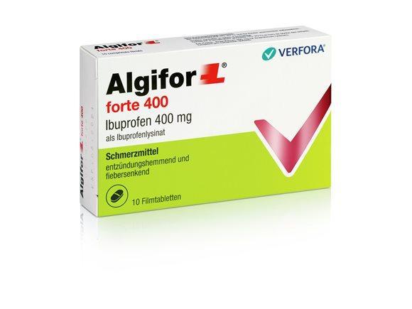 ALGIFOR-L forte Filmtabl 400 mg 10 Stk