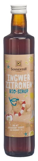 SONNENTOR Ingwer-Zitronen Sirup 500 ml