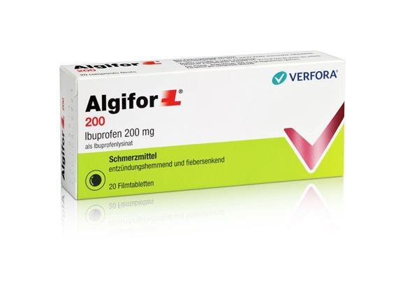 ALGIFOR-L Filmtabl 200 mg 20 Stk