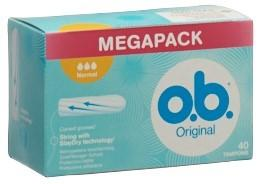 OB Tampons Normal Box 40 Stk