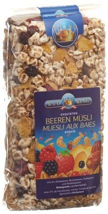 BIOKING Beerenmüesli 375 g