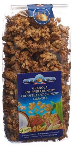 BIOKING Granola Knusper Müesli 375 g