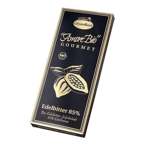 LIEBHART Schoko Edelbitt Kakao 85% Bio 10 x 100 g