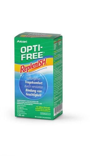 OPTI FREE REPLENISH Desinfektionslösung Fl 120 ml