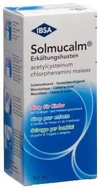 SOLMUCALM Erkältungshusten Sirup Kind Fl 90 ml