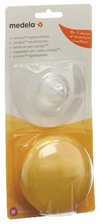 MEDELA Contact Brusthütchen M 20mm mit Box 1 Paar