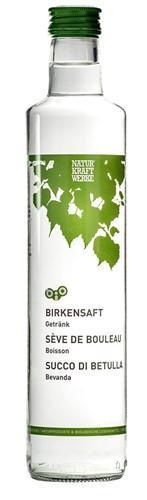 NATURKRAFTWERKE Birkensaft Bio Fl 500 ml