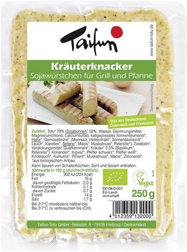 TAIFUN Tofu Kräuterknacker 250 g
