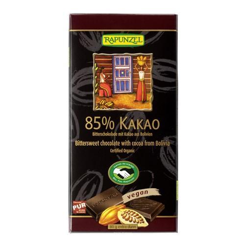 RAPUNZEL Zartbitter Schokolade Bio 80 g