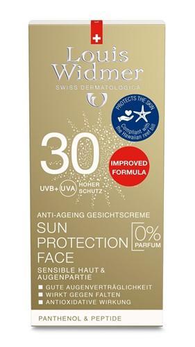 WIDMER Sun Protection Face 30 Unparf 50 ml
