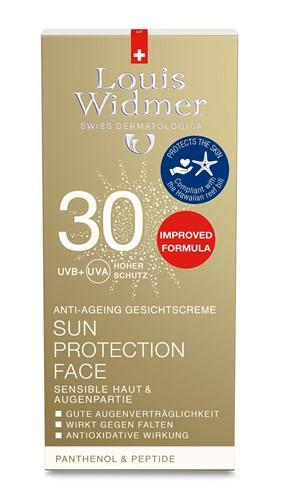 WIDMER Sun Protection Face 30 Parf 50 ml