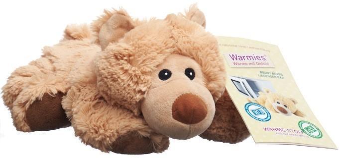 BEDDY BEAR Wärme Stofftier Bär William liegend